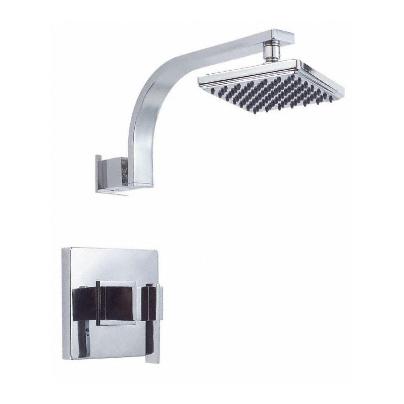 Danze Sirius Ultra Modern Square Chrome Single Lever Handle Shower Only Faucet INCLUDES Rough-in Valve