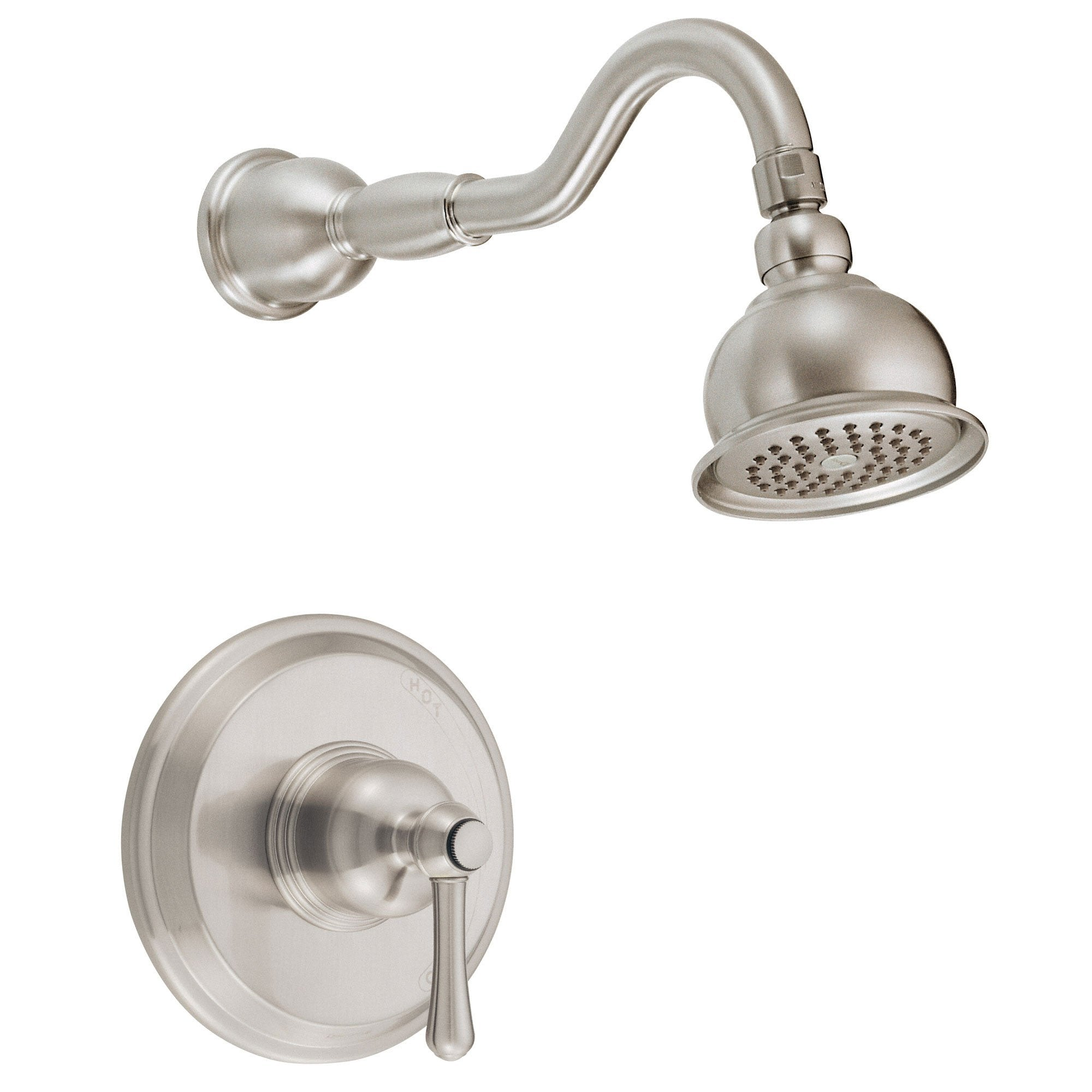 Danze Opulence Brushed Nickel Single Lever Handle Shower Only Faucet INCLUDES Rough-in Valve