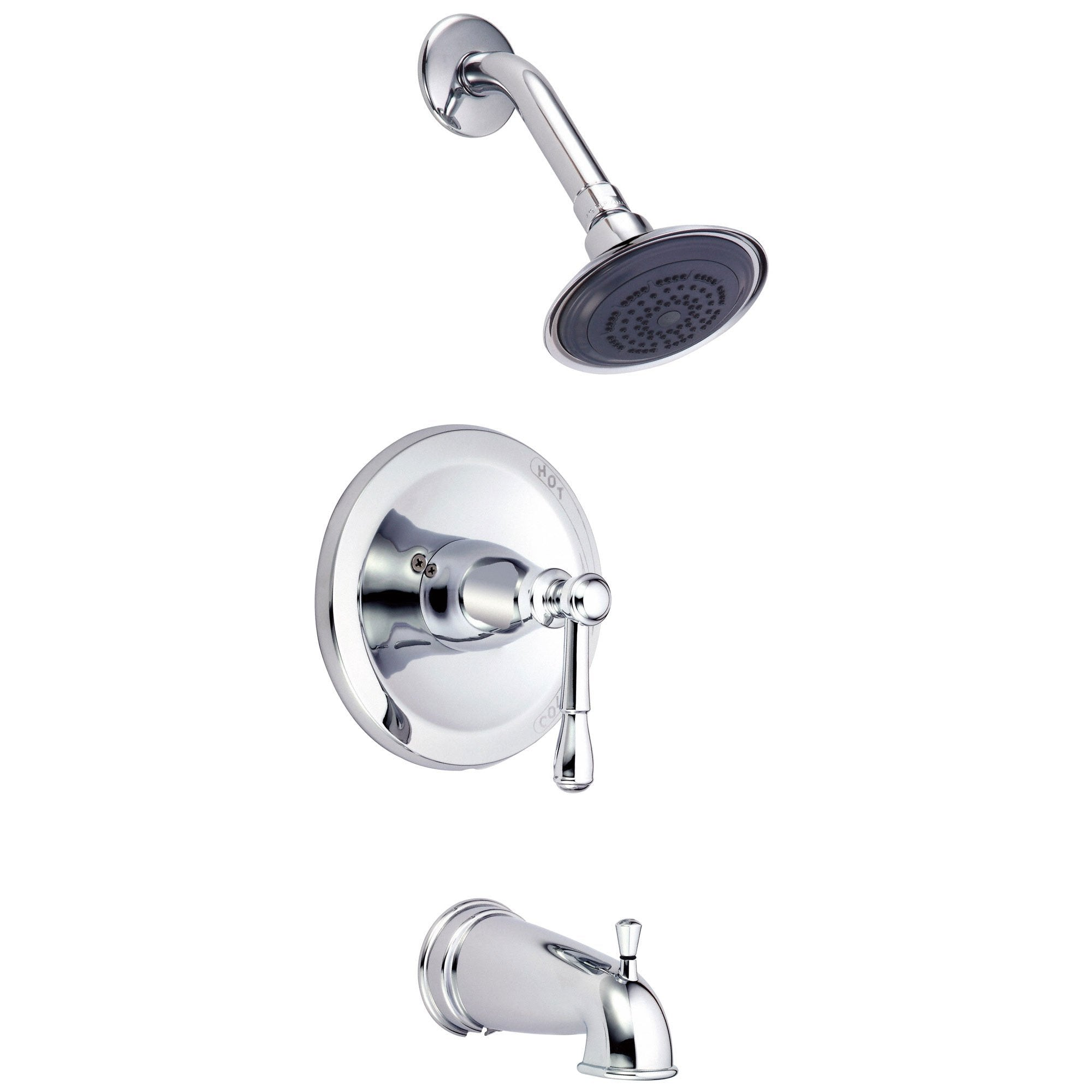 Danze Eastham Chrome Single Handle Tub and Shower Combination Faucet INCLUDES Rough-in Valve