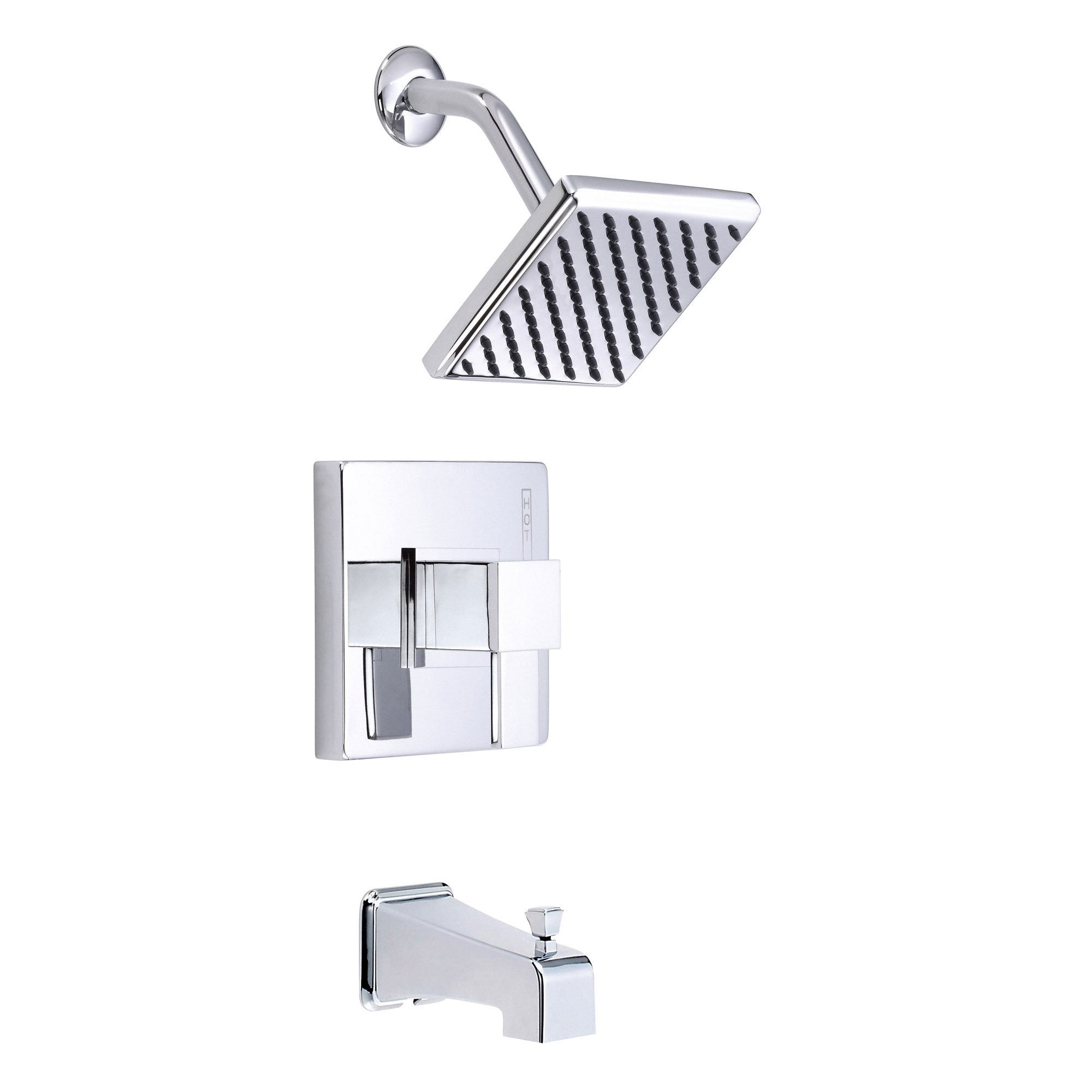 Danze Reef Chrome Single Handle Tub and Shower Combo Faucet INCLUDES Rough-in Valve