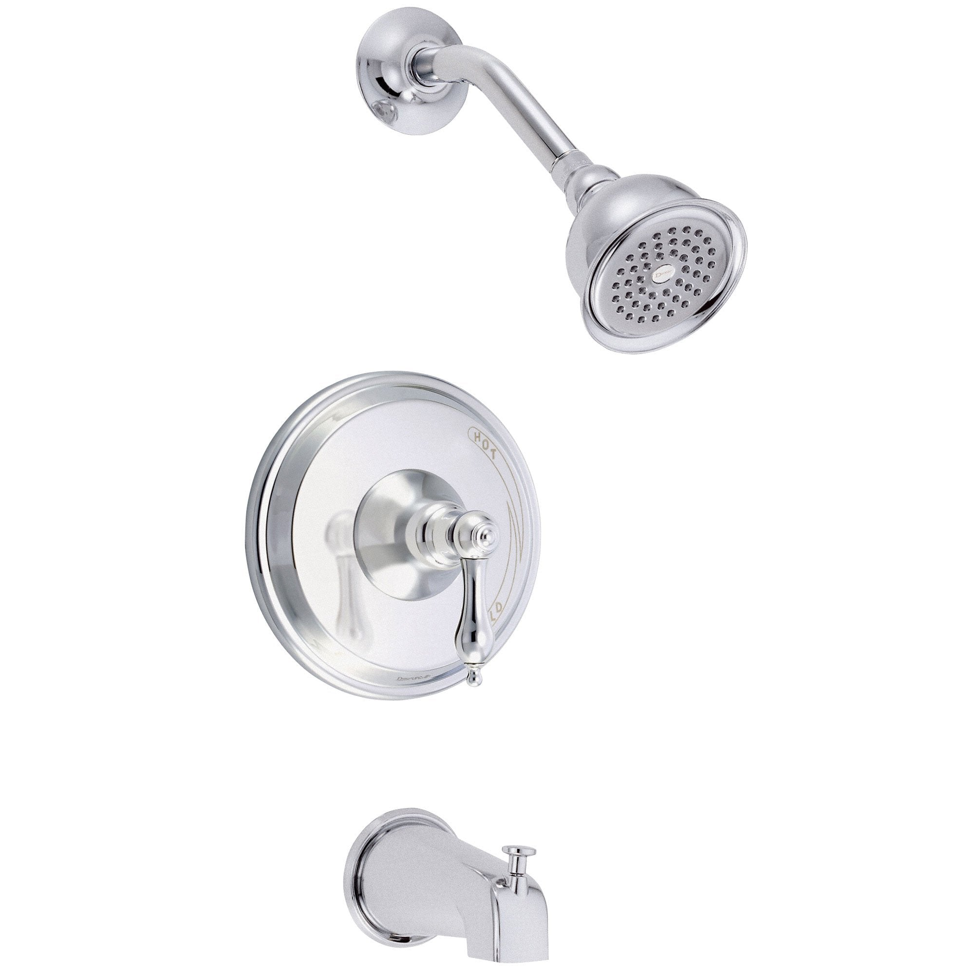 Danze Fairmont Chrome Single Lever Handle Tub and Shower Combination Faucet INCLUDES Rough-in Valve