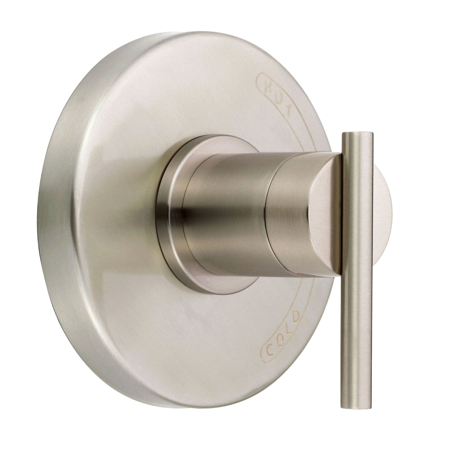 Danze Parma Brushed Nickel Modern Single Handle Shower Faucet ...