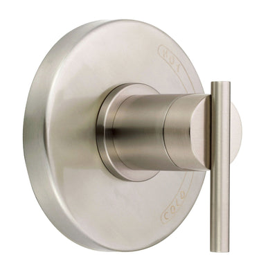 Danze Parma Brushed Nickel Modern Single Handle Shower Faucet Control INCLUDES Rough-in Valve