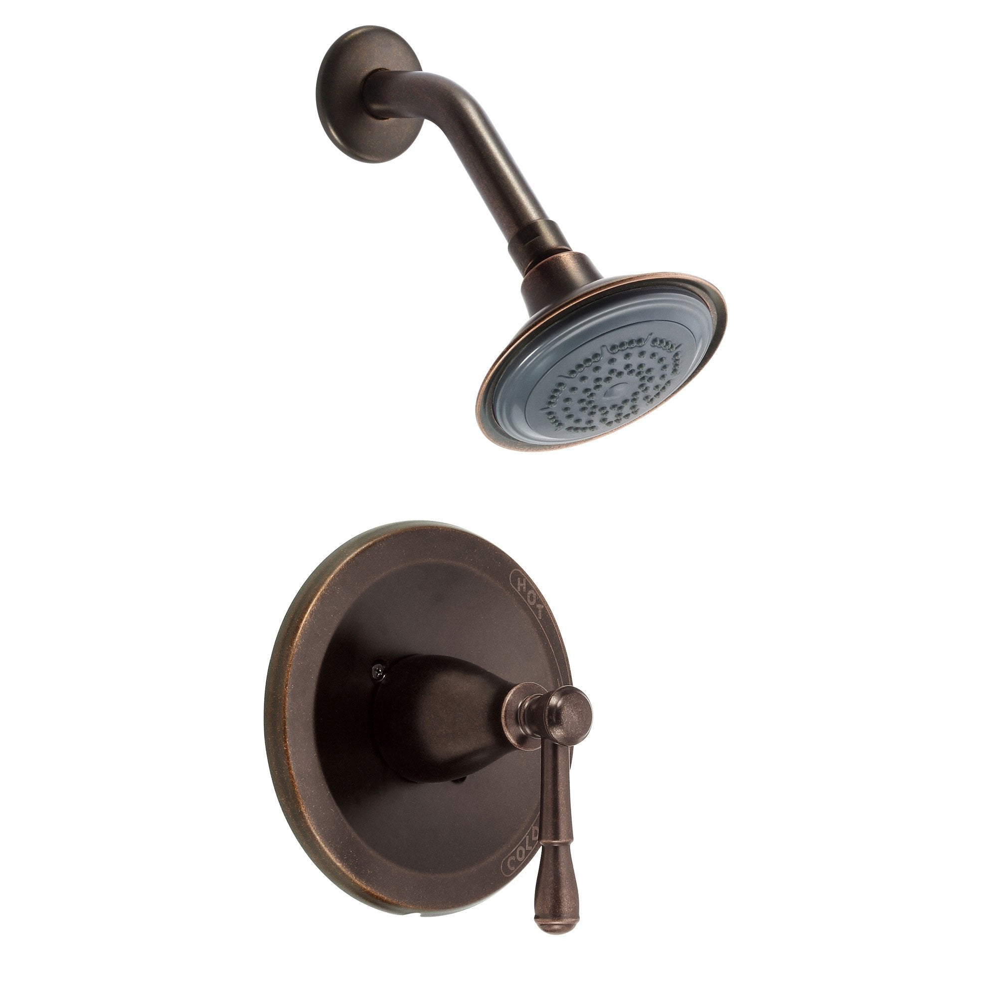 Danze Eastham Tumbled Bronze Single Handle Shower Only Faucet INCLUDES Rough-in Valve