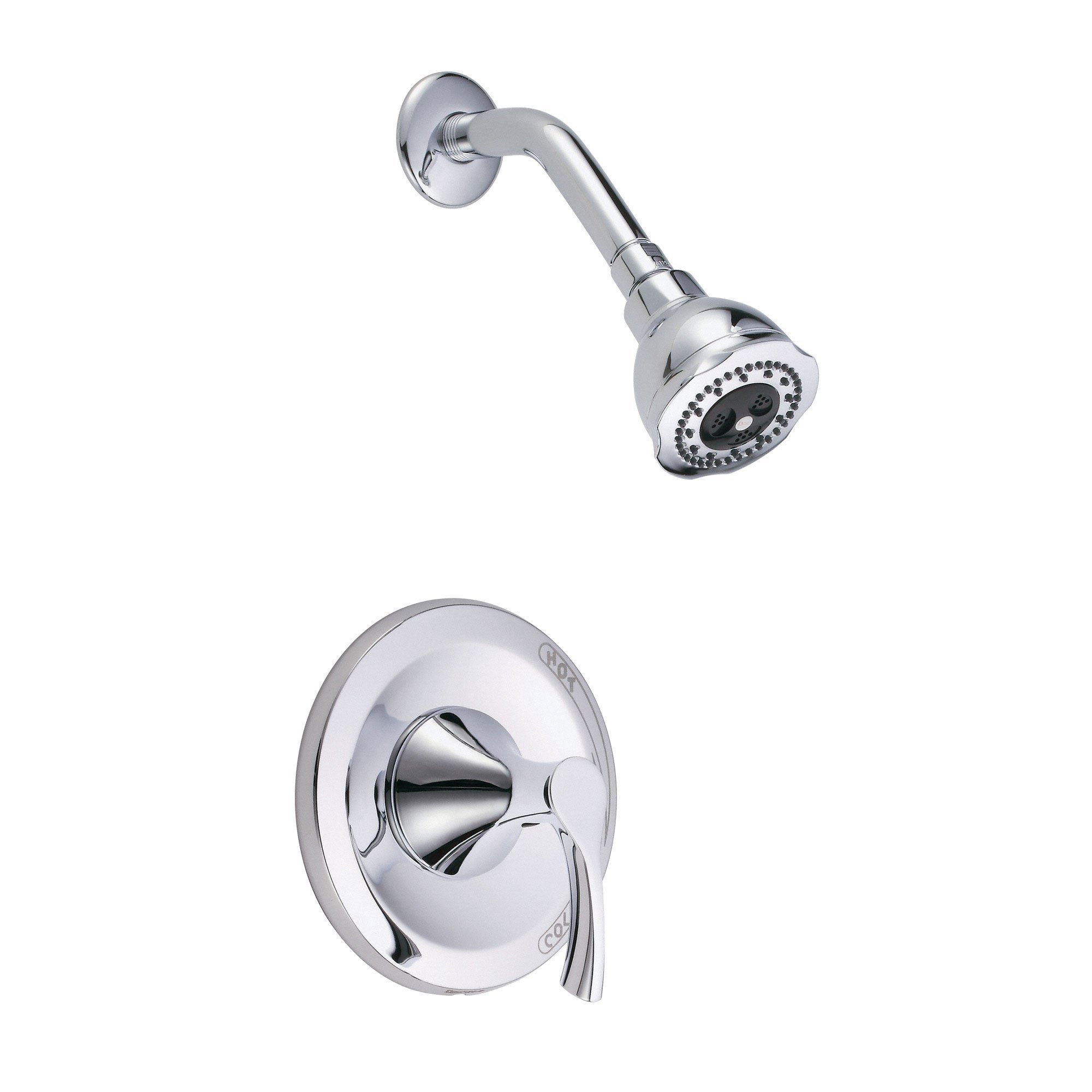 Danze Antioch Chrome Single Handle Pressure Balance Shower Faucet INCLUDES Rough-in Valve
