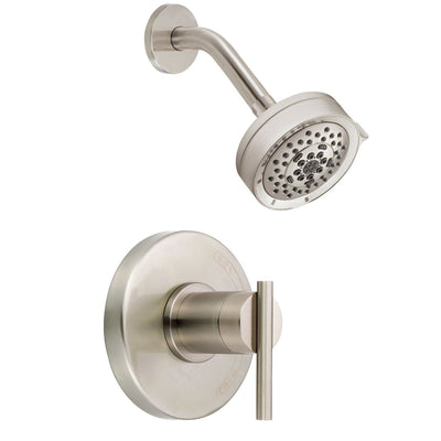 Danze Parma Modern Brushed Nickel Single Handle Shower Only Faucet INCLUDES Rough-in Valve