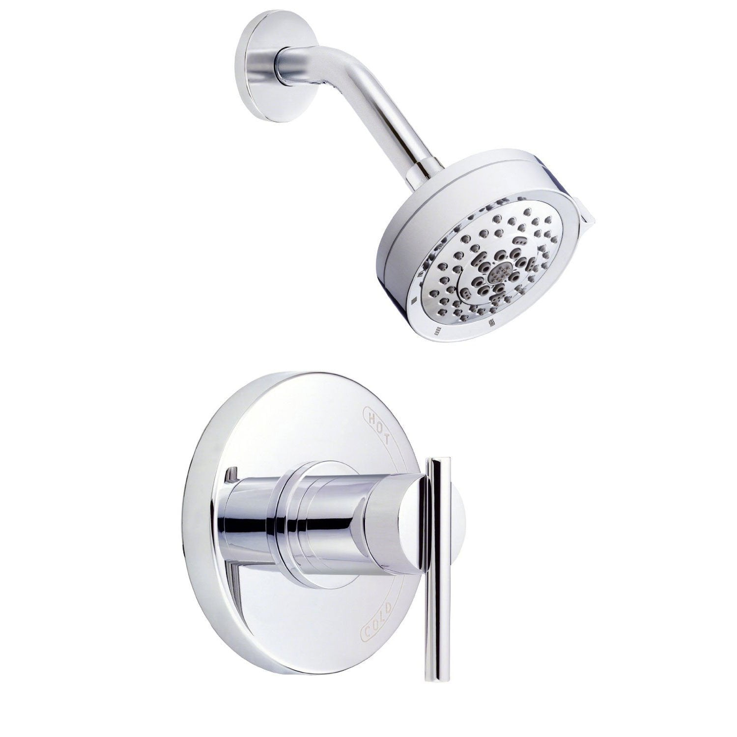 Danze Parma Modern Chrome Single Lever Handle Shower Only Faucet INCLUDES Rough-in Valve