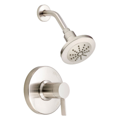 Danze Amalfi Brushed Nickel Single Handle Pressure Balance Shower Faucet INCLUDES Rough-in Valve