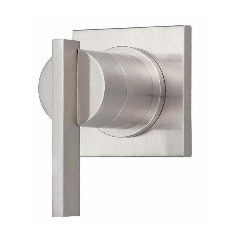 Danze Sirius Brushed Nickel 1 Handle Volume Control 4-Port Shower Diverter INCLUDES Rough-in Valve