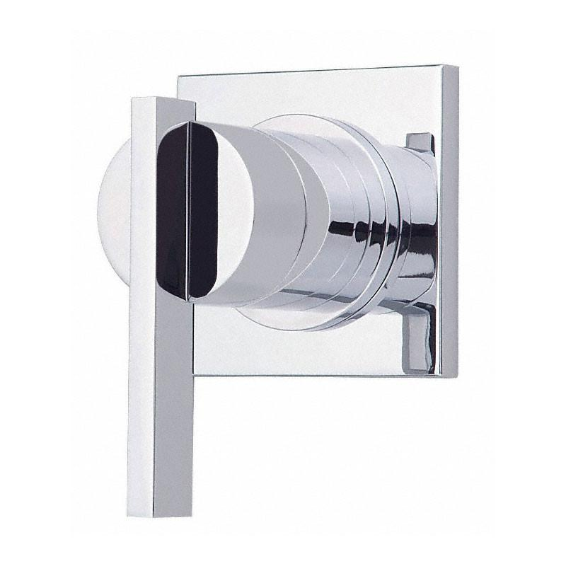 Danze Sirius Chrome Single Handle Volume Control 4-Port Shower Diverter INCLUDES Rough-in Valve