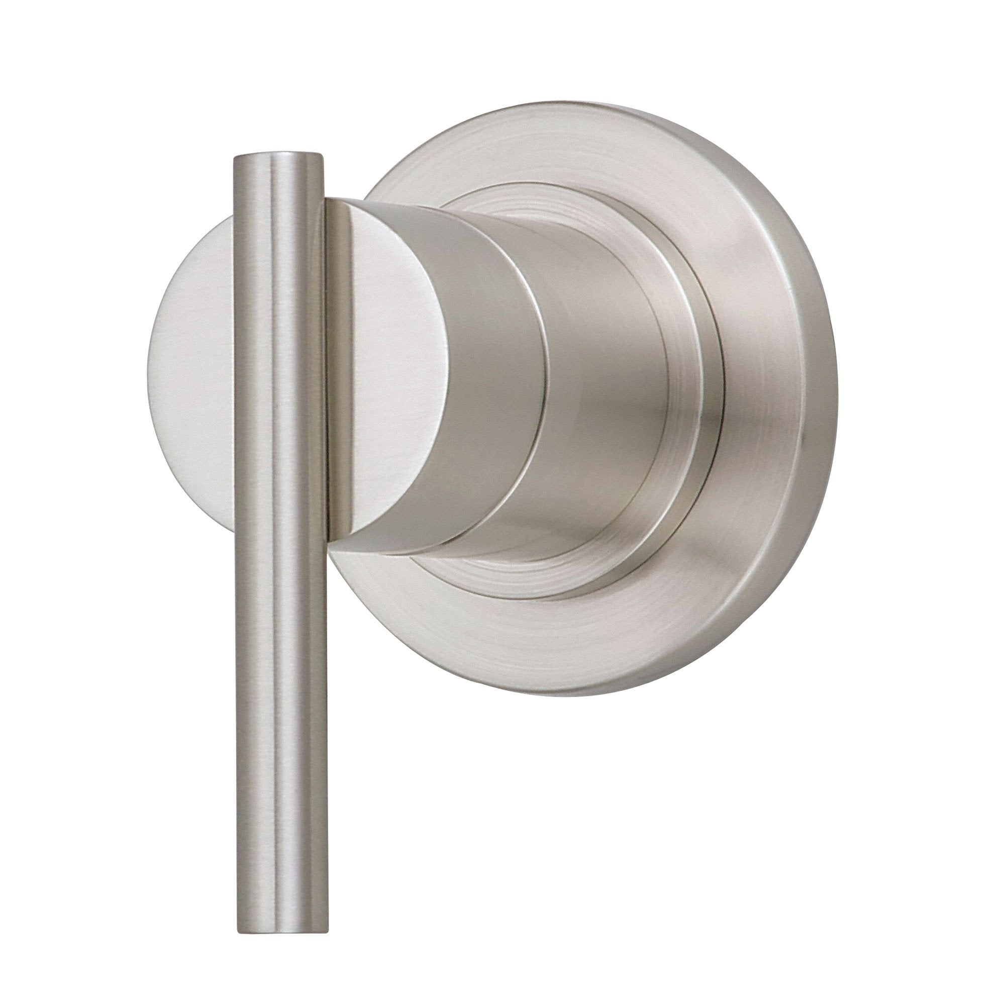 Danze Parma Brushed Nickel 1 Handle Volume Control 4-Port Shower Diverter INCLUDES Rough-in Valve