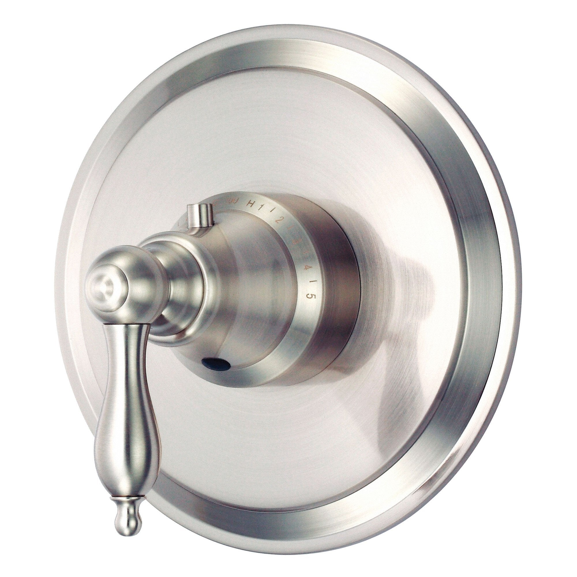 Danze Fairmont Brushed Nickel High-Volume Thermostatic Shower Control INCLUDES Rough-in Valve