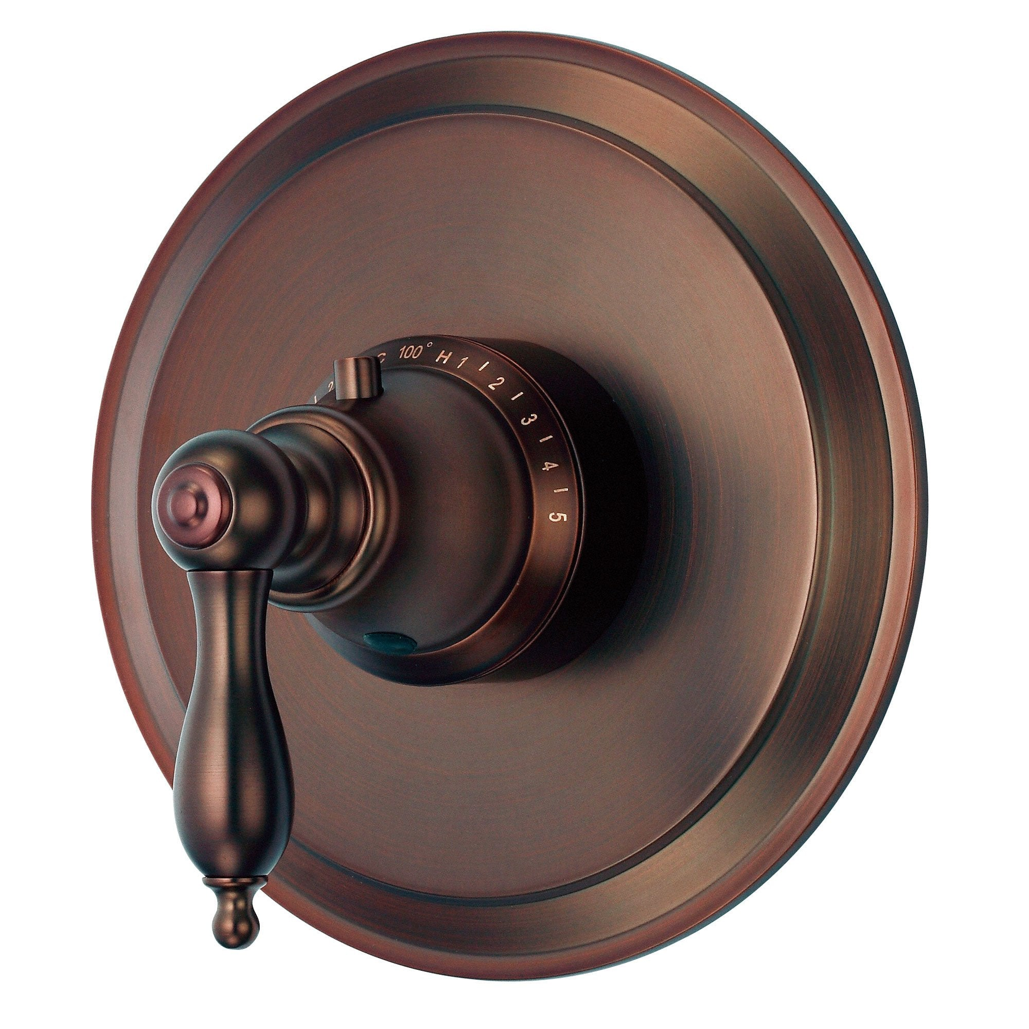 Danze Fairmont Oil Rubbed Bronze 1 Handle High-Volume Thermostatic Shower Control INCLUDES Rough-in Valve