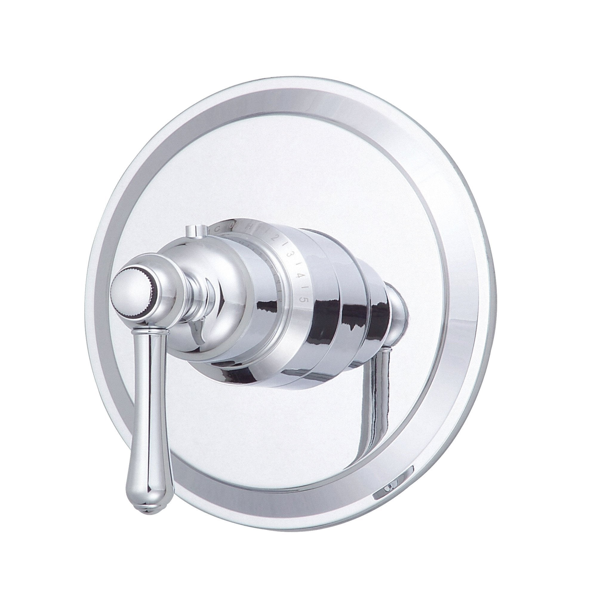 "Danze Opulence Chrome 1 Handle 3/4"" High-Volume Thermostatic Shower Control INCLUDES Rough-in Valve"
