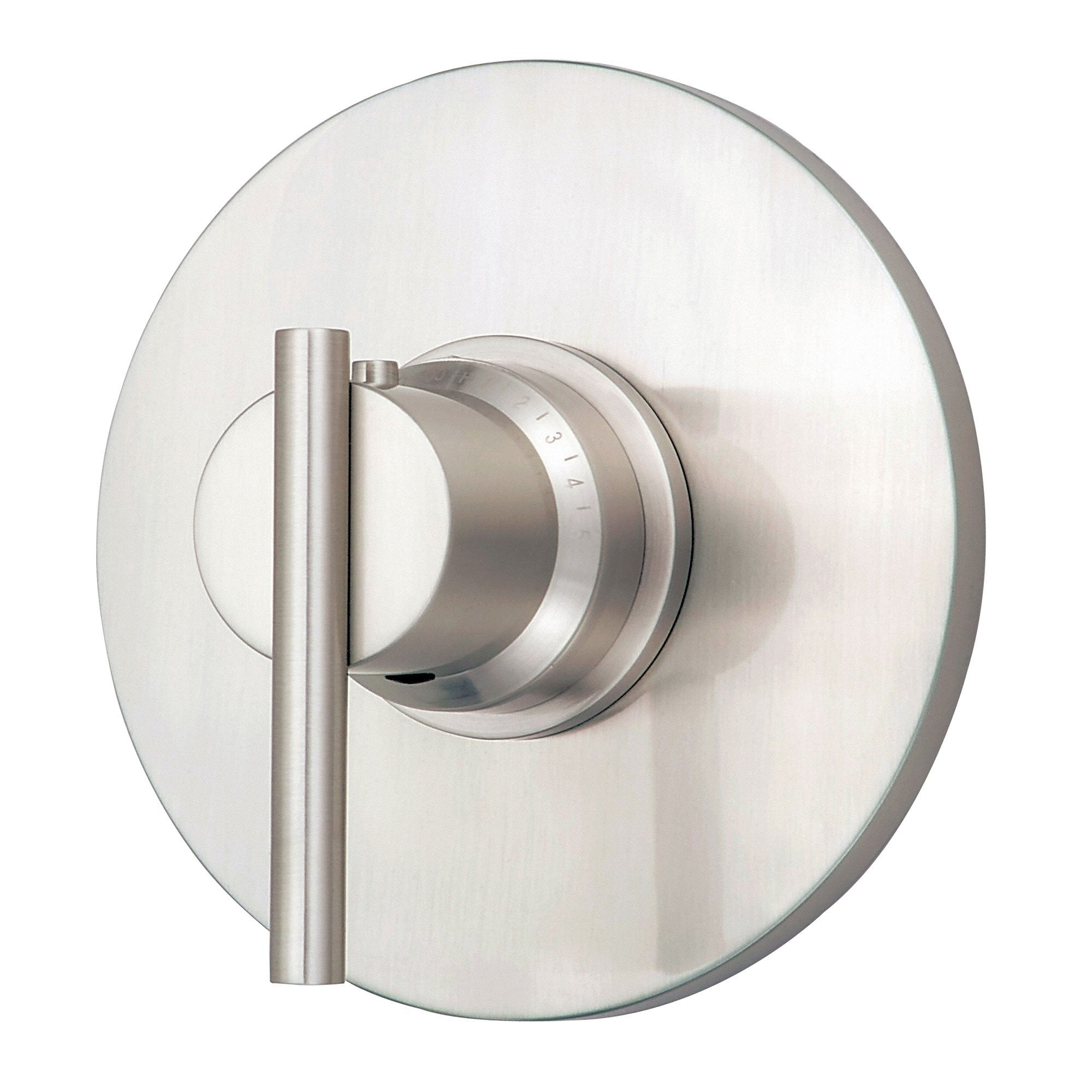 "Danze Parma Brushed Nickel 3/4"" High-Volume Thermostatic Shower Control INCLUDES Rough-in Valve"