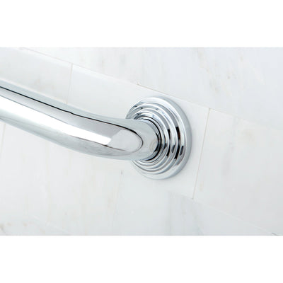 "Kingston Brass Grab Bars - Chrome Milano 24"" Decorative Grab Bar DR214241"
