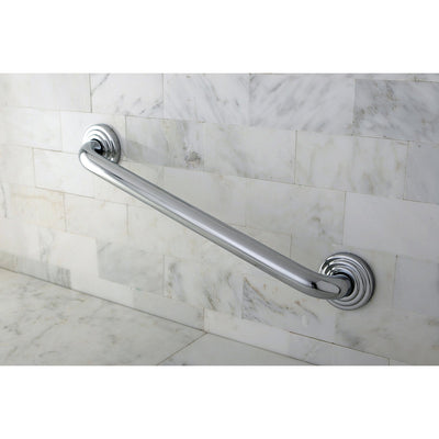"Kingston Brass Grab Bars - Chrome Traditional 18"" Decorative Grab Bar DR314181"