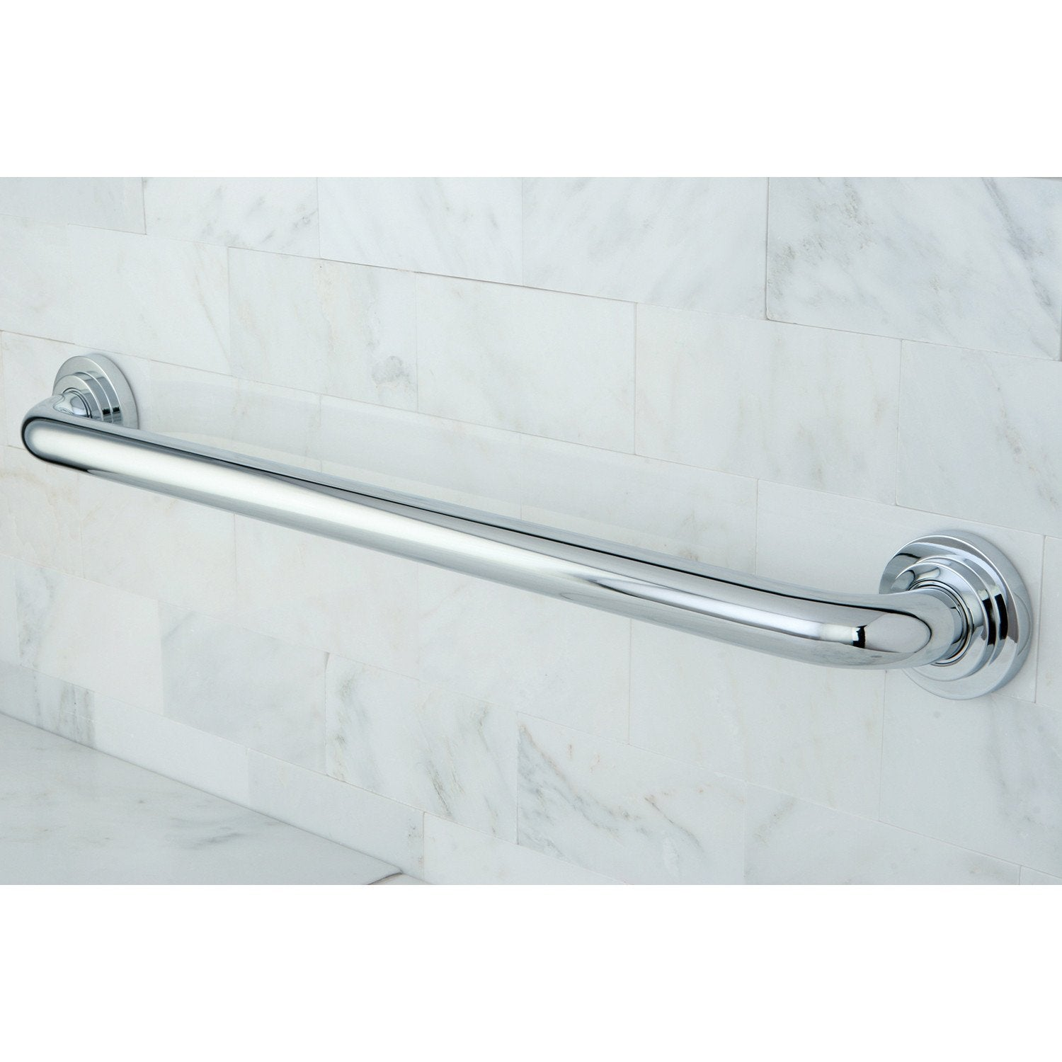 Kingston Brass Grab Bars - Chrome Manhattan 24\