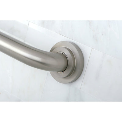 "Kingston Grab Bars - Satin Nickel Manhattan 24"" Decorative Grab Bar DR414248"