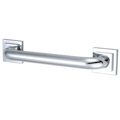 "Kingston Brass Grab Bars - Chrome Claremont 12"" Decorative Grab Bar DR614121"