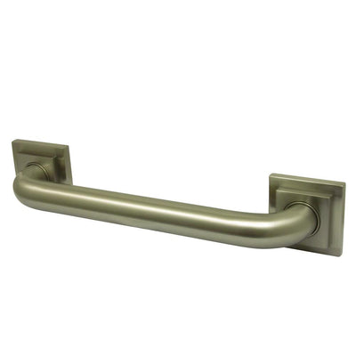 "Kingston Grab Bars - Satin Nickel Claremont 18"" Decorative Grab Bar DR614188"
