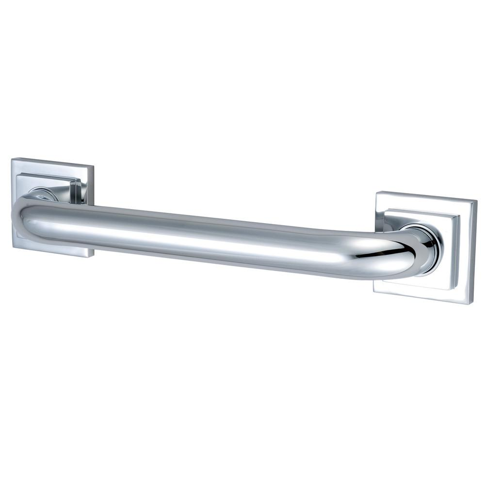 "Kingston Brass Grab Bars - Chrome Claremont 24"" Decorative Grab Bar DR614241"