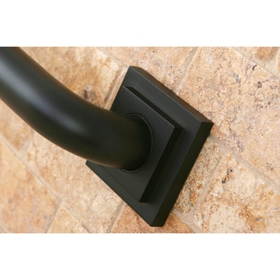 "Grab Bars - Oil Rubbed Bronze Claremont 24"" Decorative Grab Bar DR614245"