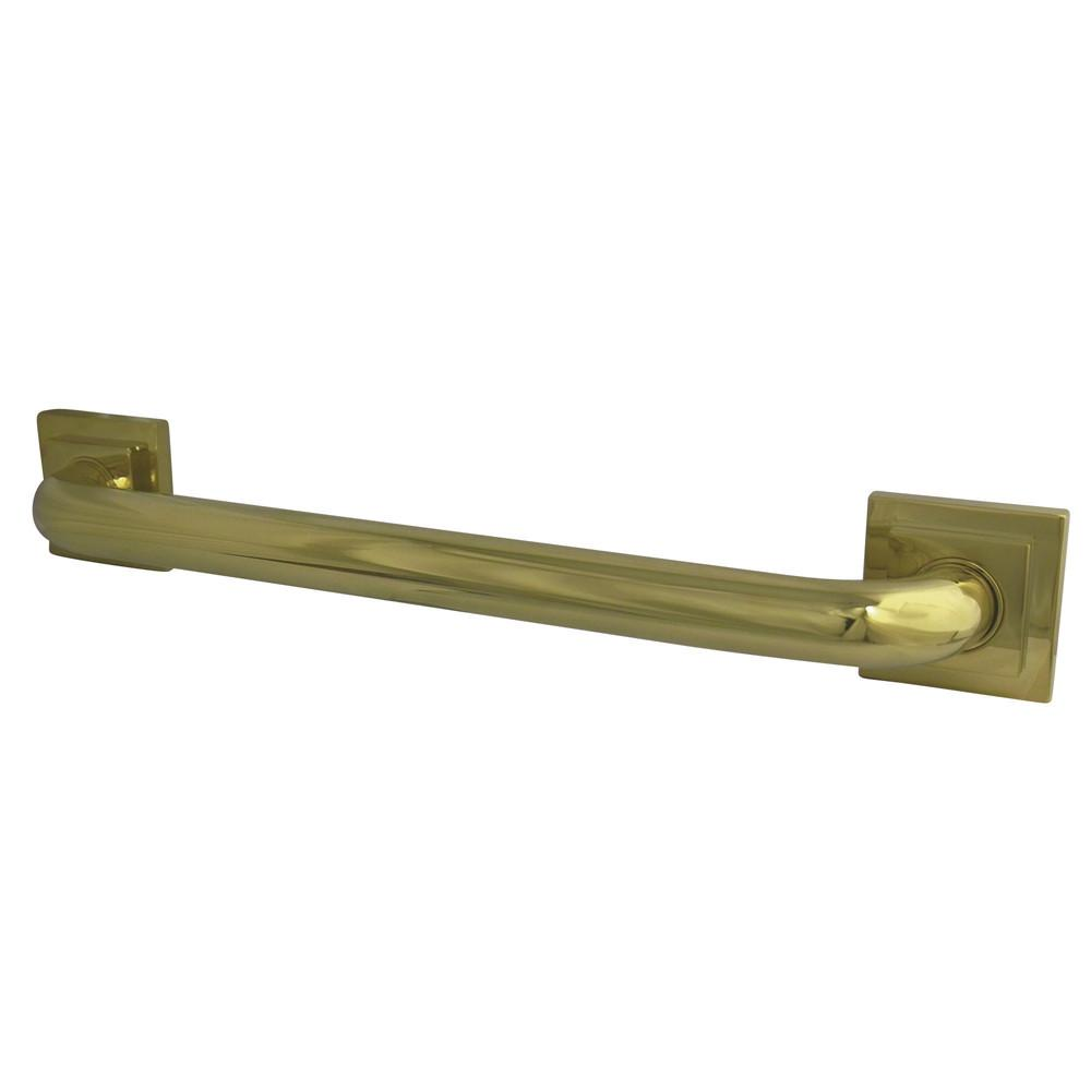 "Kingston Grab Bars - Polished Brass Claremont 32"" Decorative Grab Bar DR614322"