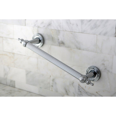 "Kingston Brass Chrome Templeton Grab Bar For Bathroom Or Shower: 12"" DR710121"