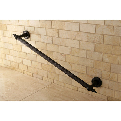 "Kingston Oil Rubbed Bronze Templeton 24"" Bathroom Grab Bar DR710245"
