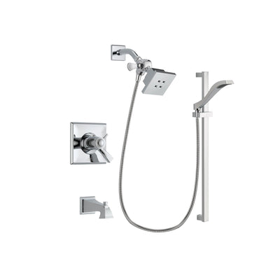 Delta Dryden Chrome Tub and Shower Faucet System with Hand Shower DSP0146V