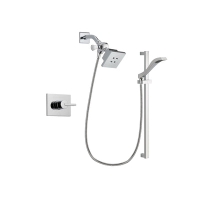 Delta Vero Chrome Shower Faucet System with Shower Head and Hand Shower DSP0153V
