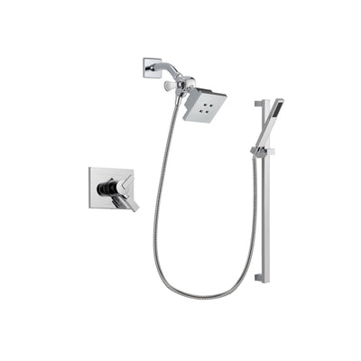 Delta Vero Chrome Shower Faucet System with Shower Head and Hand Shower DSP0208V