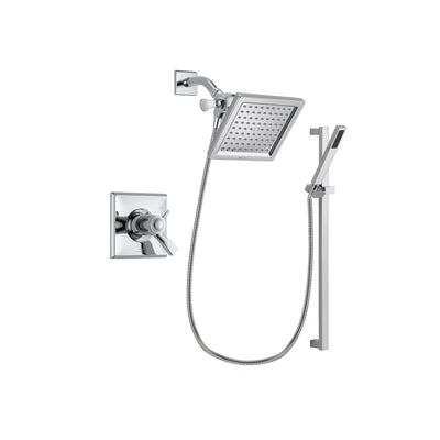Delta Dryden Chrome Shower Faucet System w/ Shower Head and Hand Shower DSP0209V