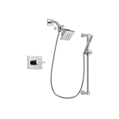 Delta Vero Chrome Shower Faucet System with Shower Head and Hand Shower DSP0249V