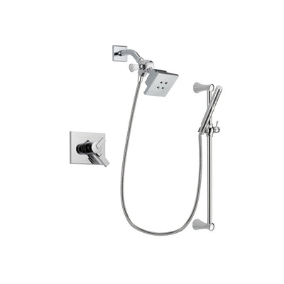 Delta Vero Chrome Shower Faucet System with Shower Head and Hand Shower DSP0256V