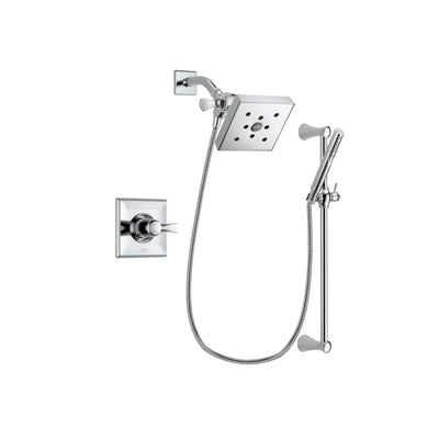 Delta Dryden Chrome Shower Faucet System with Shower Head & Hand Shower DSP0280V