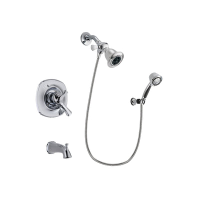 Delta Addison Chrome Tub and Shower Faucet System with Hand Shower DSP0351V