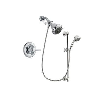 Delta Lahara Chrome Shower Faucet System w/ Shower Head and Hand Shower DSP0572V