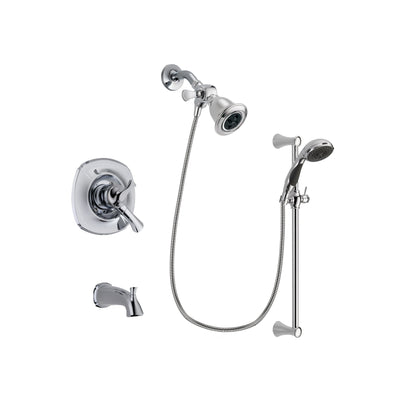 Delta Addison Chrome Tub and Shower Faucet System with Hand Shower DSP0759V