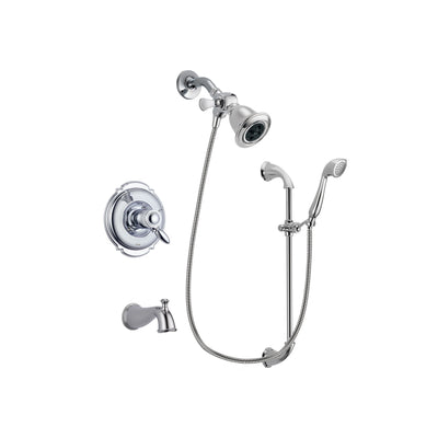 Delta Victorian Chrome Tub and Shower Faucet System with Hand Shower DSP0869V