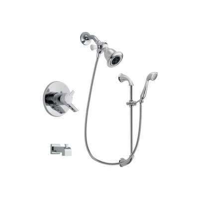 Delta Compel Chrome Tub and Shower Faucet System with Hand Shower DSP0891V