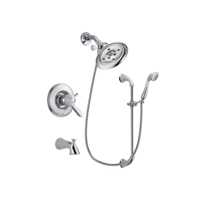 Delta Lahara Chrome Tub and Shower Faucet System with Hand Shower DSP0901V