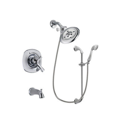 Delta Addison Chrome Tub and Shower Faucet System with Hand Shower DSP0929V