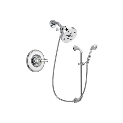 Delta Linden Chrome Shower Faucet System w/ Shower Head and Hand Shower DSP0954V