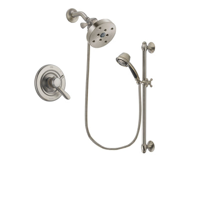 Delta Lahara Stainless Steel Finish Shower Faucet System w/ Hand Spray DSP1364V
