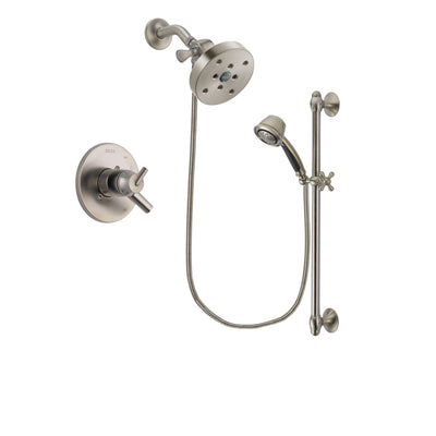 Delta Trinsic Stainless Steel Finish Shower Faucet System w/Hand Shower DSP1366V