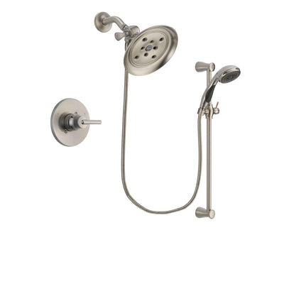 Delta Trinsic Stainless Steel Finish Shower Faucet System w/Hand Shower DSP1594V