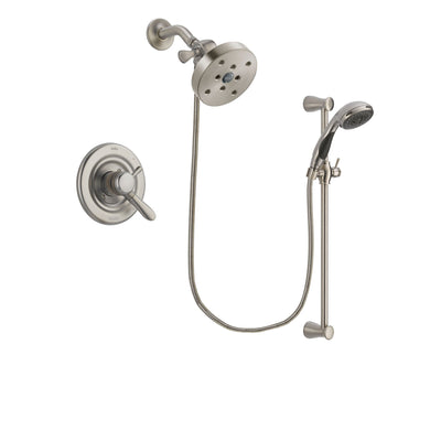 Delta Lahara Stainless Steel Finish Shower Faucet System w/ Hand Spray DSP1636V