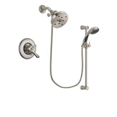 Delta Linden Stainless Steel Finish Shower Faucet System w/ Hand Spray DSP1646V